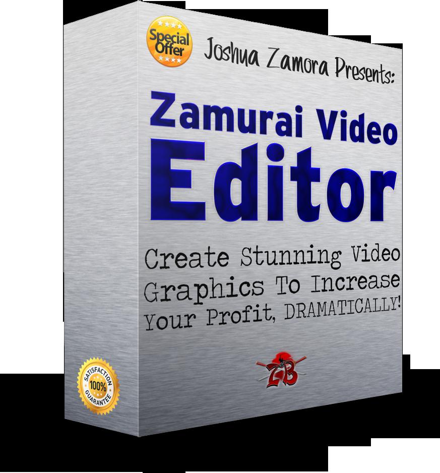 ZamuraiVideoEditorEcover