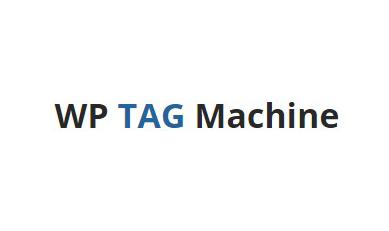 Bonus: WP Tag Machine