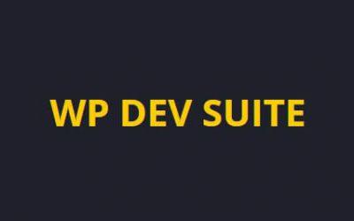 Bonus: WP Dev Suite
