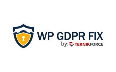 Bonus: WP GDPR Fix
