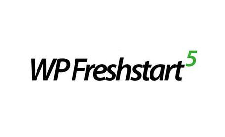 Bonus: WP Freshstart 5